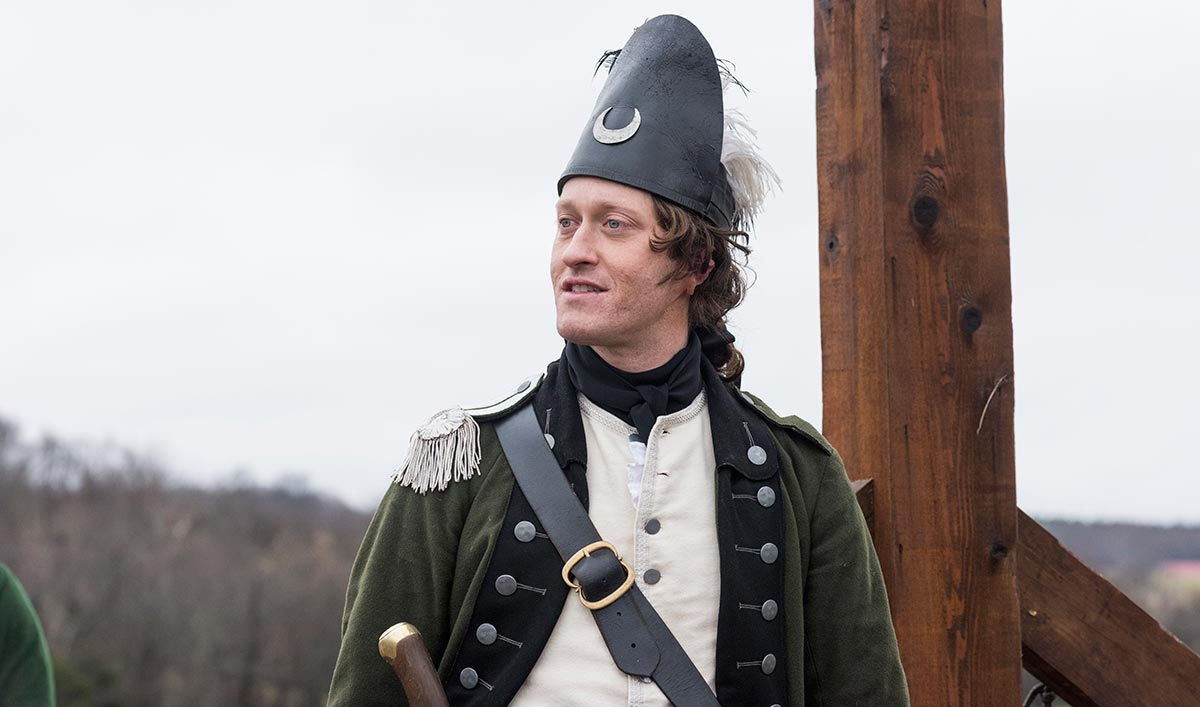 <em>TURN: Washington's Spies</em> Q&#038;A – Samuel Roukin (John Graves Simcoe)