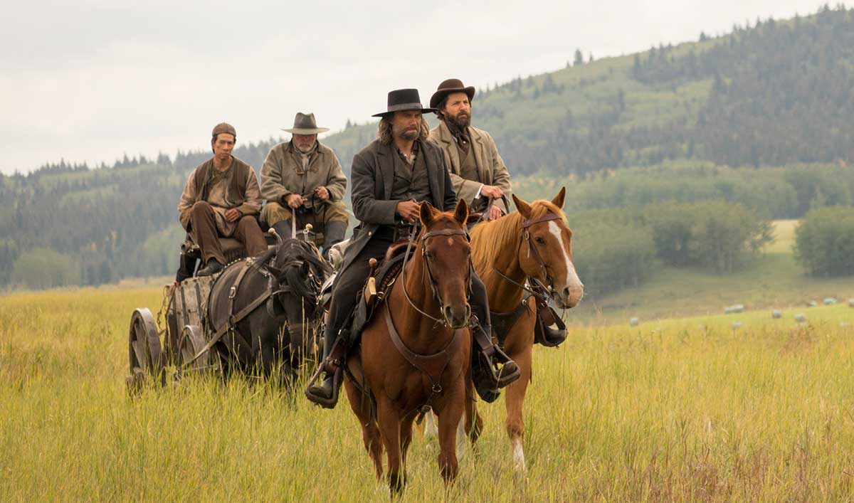 Extras for <em>Hell on Wheels</em> Episode 13