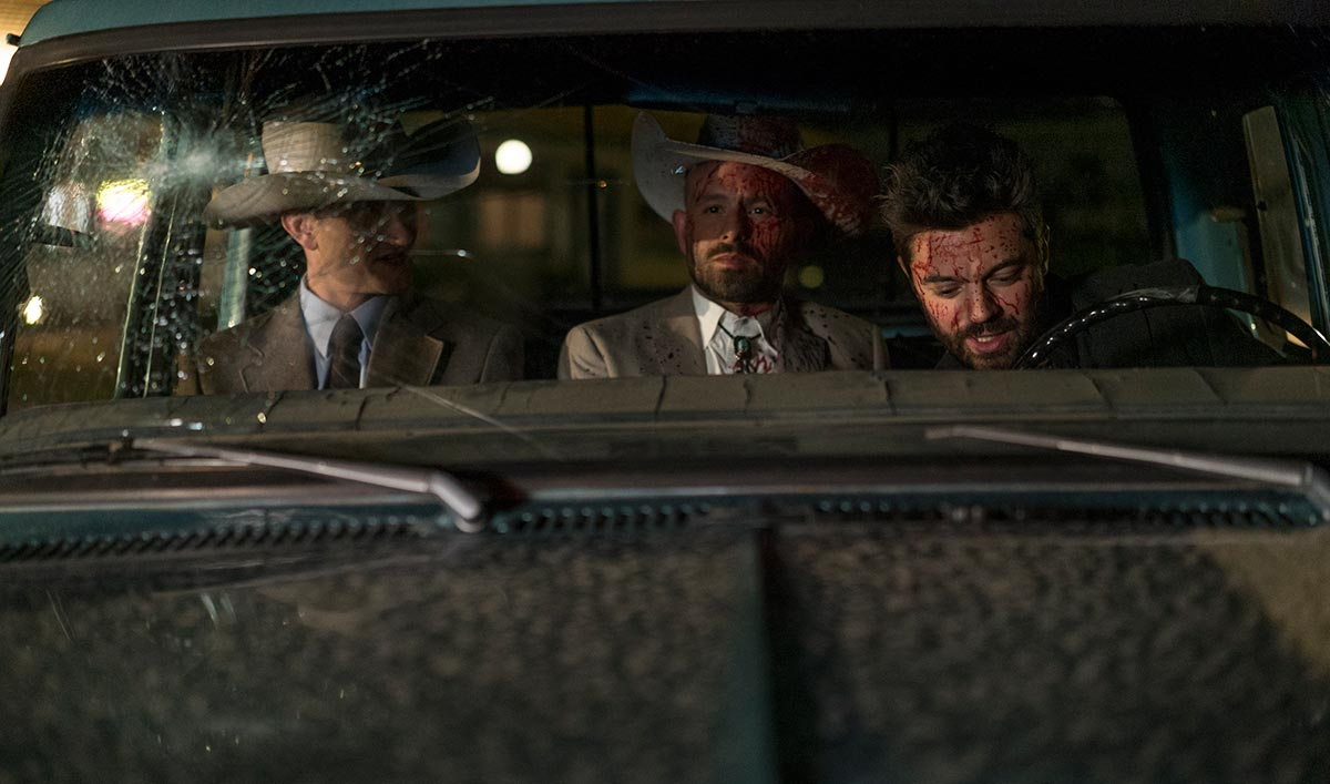 <em>THR</em>'s Dominic Cooper Q&A; <em>Preacher</em> Heads to Comic-Con