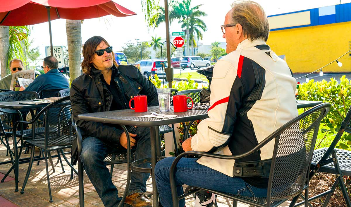 Sneak Peek – Norman Cruises Through Florida With Motorcycle Legend Peter Fonda