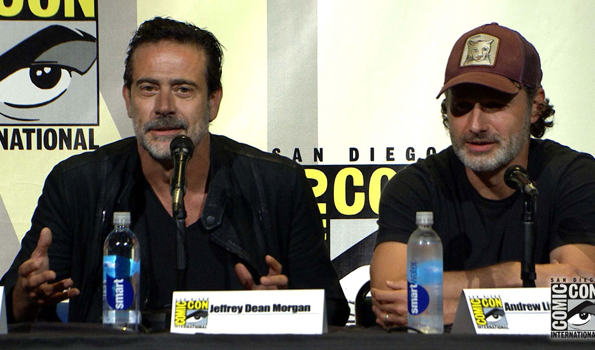 Highlights From <em>The Walking Dead</em> Comic-Con Panel