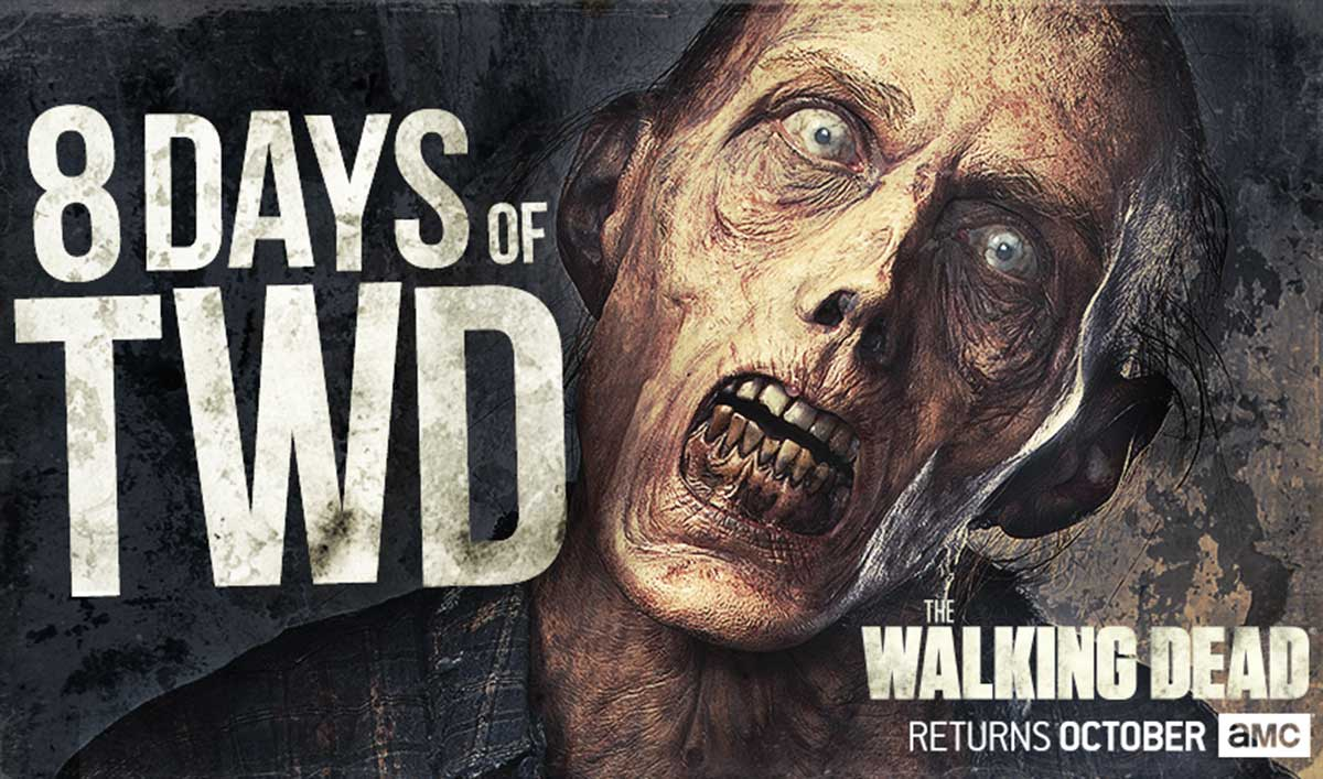 Enter <em>The Walking Dead</em>'s 8 Days of TWD Giveaway for a Chance to Win a Prize