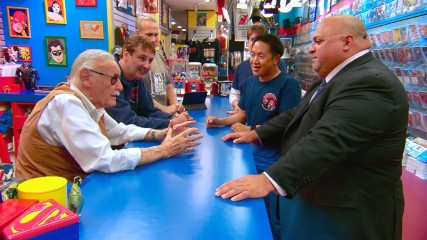 Stan Lee Inspires a Fan: Talked About Scene: Episode 506: Comic Book Men: Stan Saves!