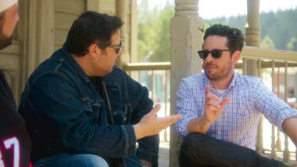 Geeking Out Talked About Scene: J.J. Abrams