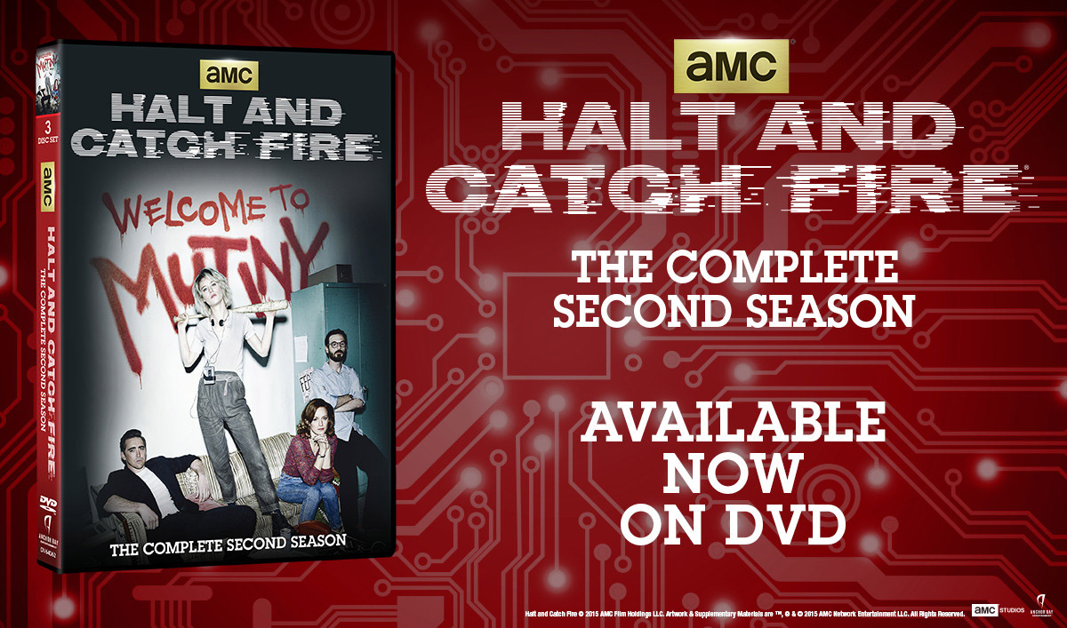 Halt and Catch Fire – Get the Entire Second Season and Bonus Features