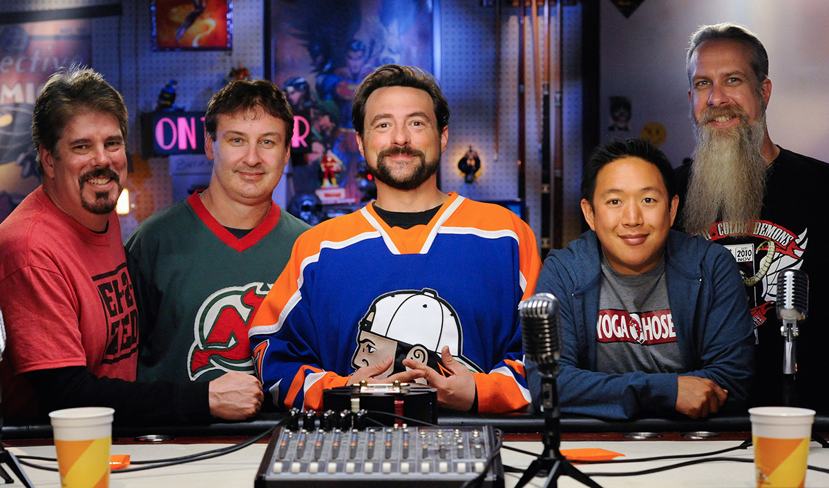 Kevin Smith, Walt Flanagan and Bryan Johnson Celebrate 300th Episode of Podcast <em>Tell &#8216;Em Steve-Dave</em>