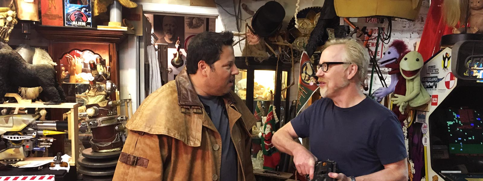 Adam Savage, Greg Grunberg – Geeking Out _ Season 1 – Photo Credit: AMC