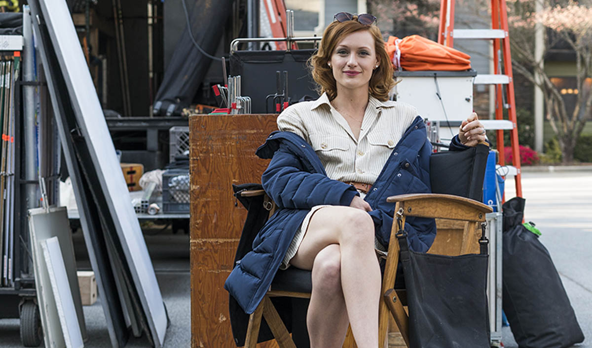 <em>Halt and Catch Fire</em> Q&A — Kerry Bishé (Donna Clark)