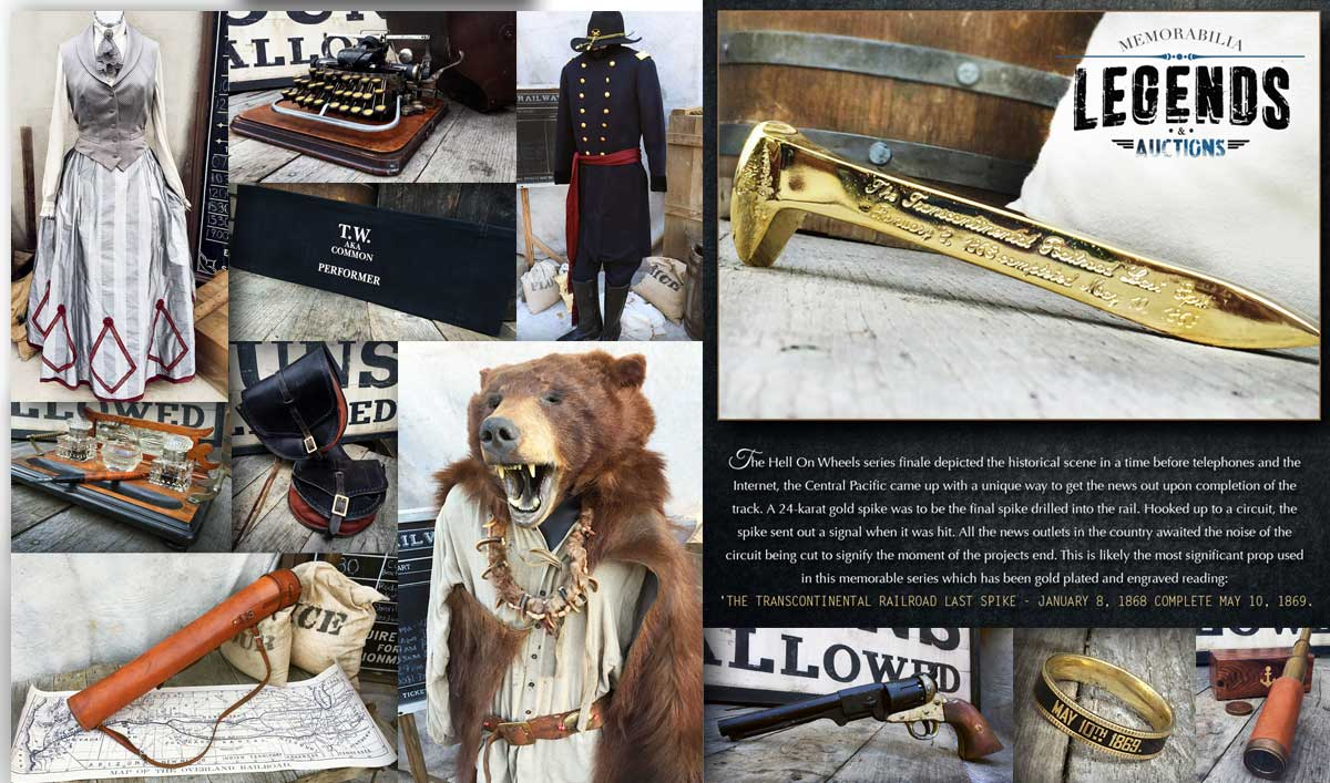 Get Your Hands on Props and Costumes From <em>Hell on Wheels</em> Now