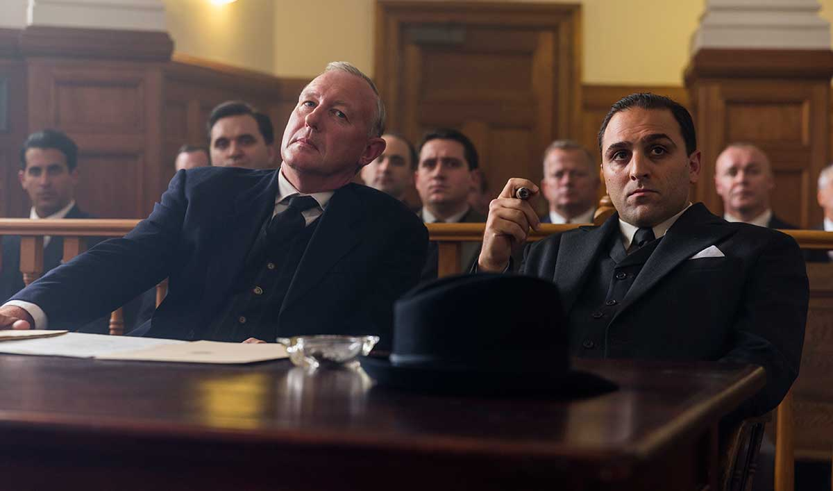 The Judge Tells Al Capone His Fate