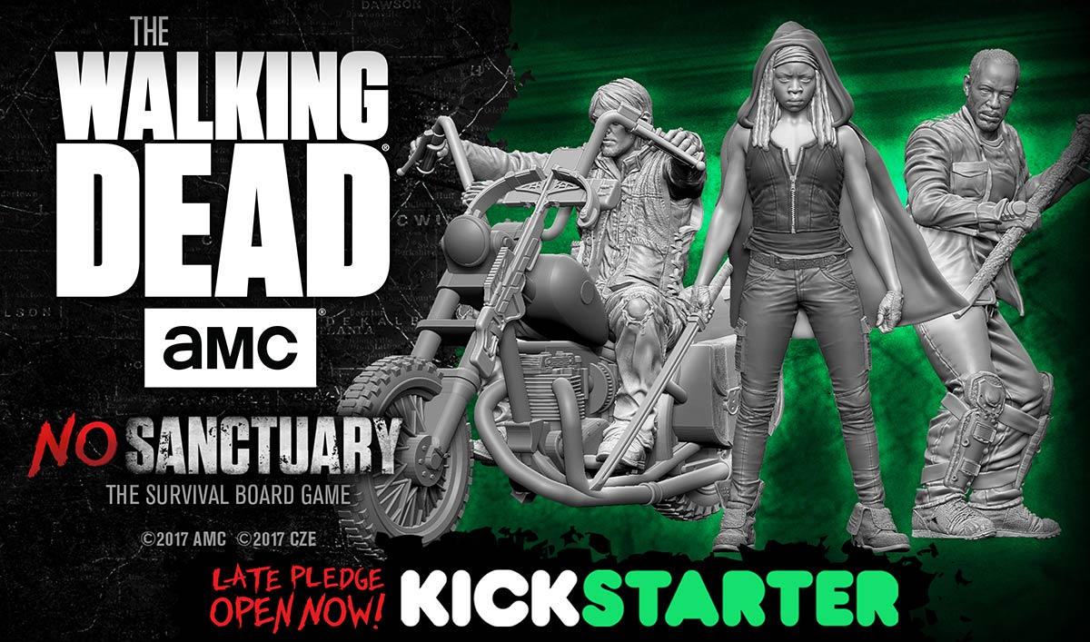 Last Chance to Order a Deluxe Version of <em>The Walking Dead</em>: No Sanctuary Board Game