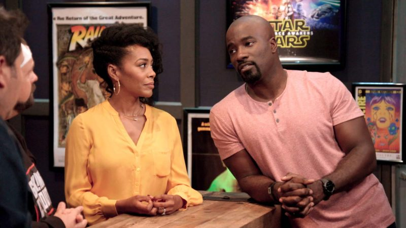 Geeking Out Talked About Scene: Luke Cage