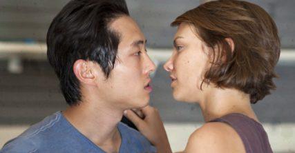 The Walking Dead: The Journey So Far: Glenn and Maggie Meet