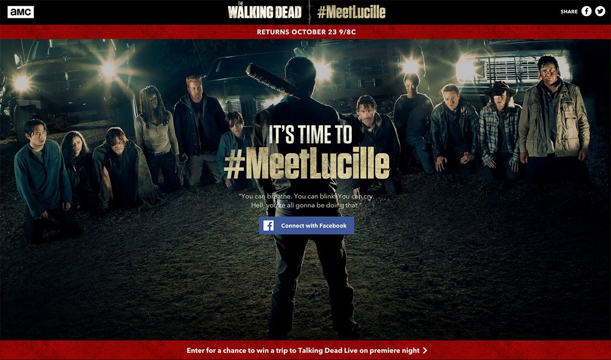 It&#8217;s Time to #MeetLucille for a Chance to Attend the Live <em>Talking Dead</em> Premiere