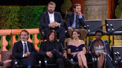 (SPOILERS) Talking Dead Highlights: Season 7, Episode 1: Lauren Cohan on Maggie's Future