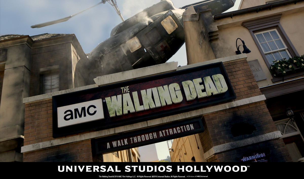 <em>The Walking Dead</em> Has a Starring Role at Universal Studios&#8217; Halloween Horror Nights