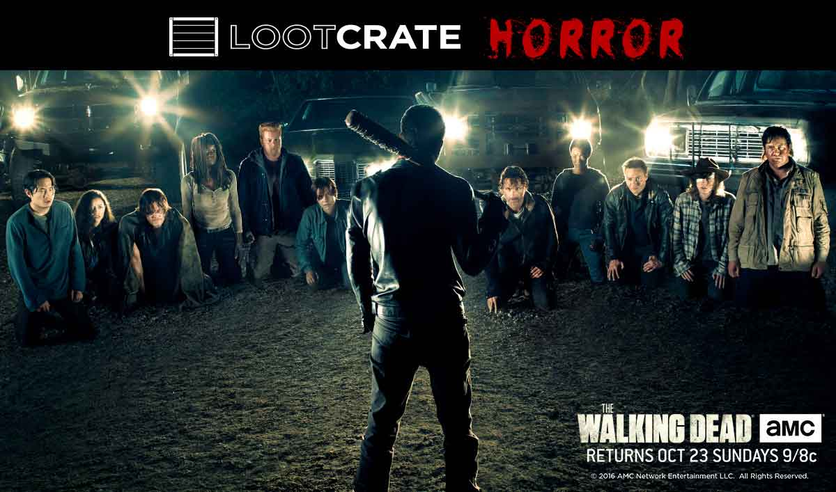 Get Official <em>The Walking Dead</em> Apparel All Month With Loot Crate
