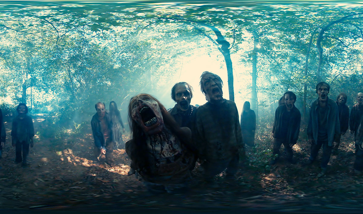 See What It's Like to Be Surrounded by Walkers in a New 360° VR Experience