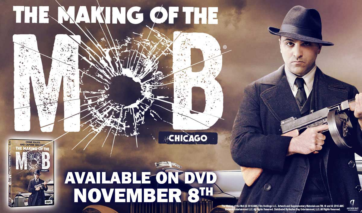 Get Mobbed Up With <em>The Making of the Mob: Chicago</em> on DVD on November 8