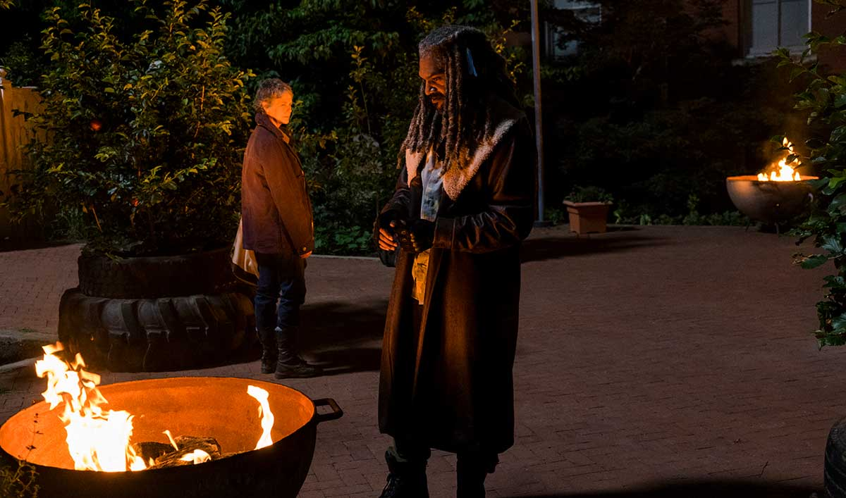 """Inside """"The Well"""" — The Cast and Creators on Why Carol and King Ezekiel Are Kindred Spirits"""