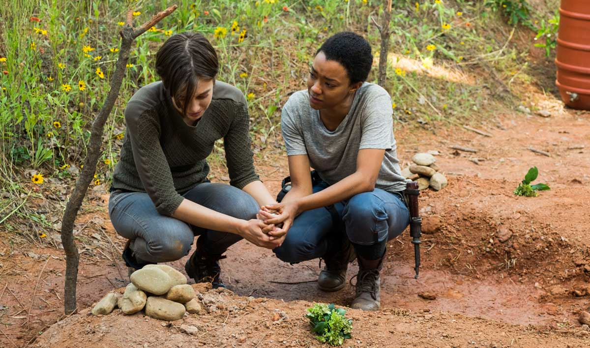 "Is the Hilltop Safe for Maggie and Sasha? Watch ""Go Getters"" to Find Out"