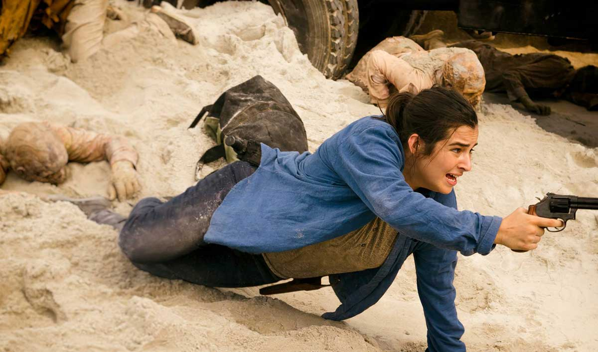 "Making of ""Swear"" — See How the Cast and Crew Brought the Sand Walkers to Life"