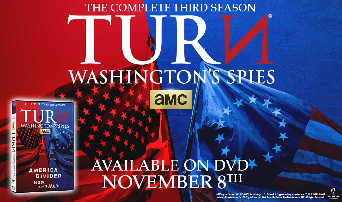 Celebrate Election Day With the Latest Season of <em>TURN</em> on DVD