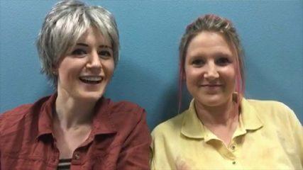 Talking Dead Ultimate Fan Search:Amanda D & Melissa W