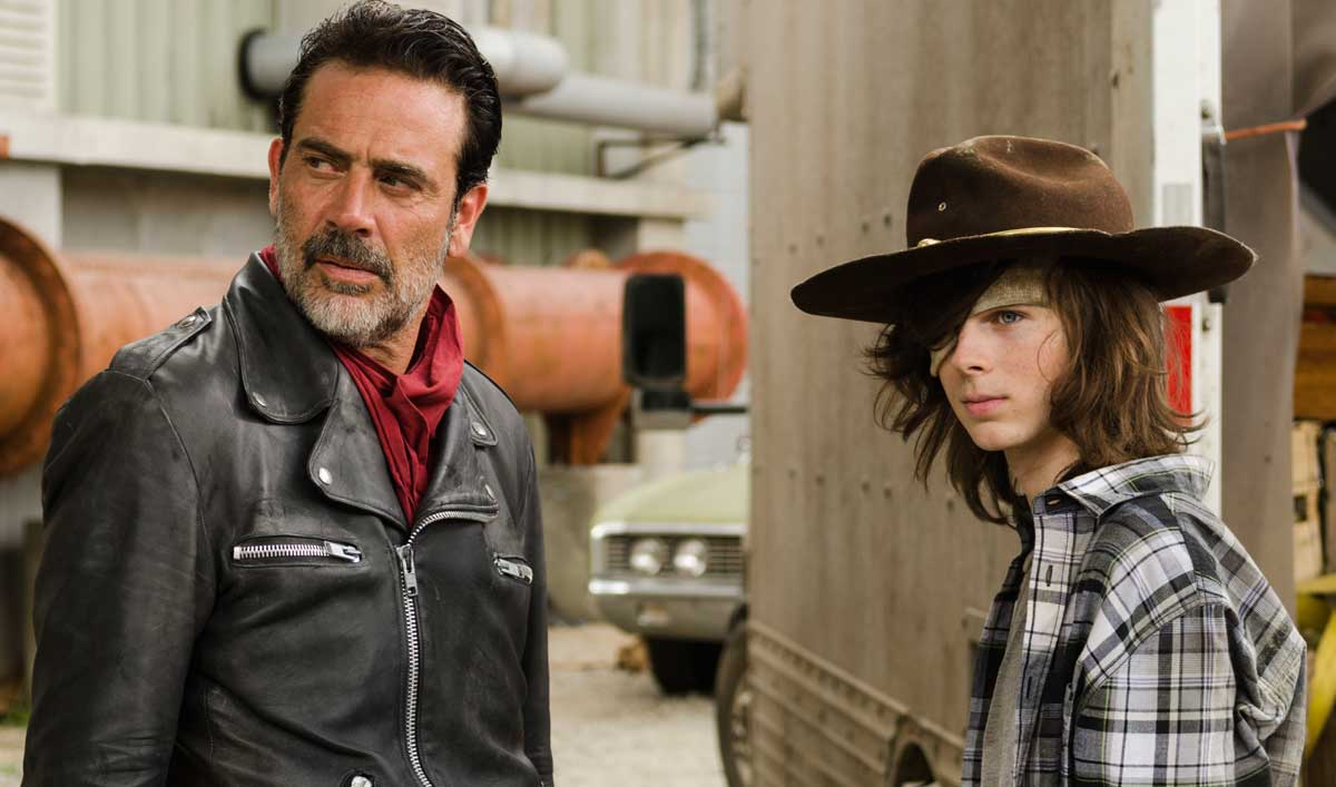 "Go Inside the Moment in ""Sing Me a Song"" When Carl Recognizes Negan's Weakness"