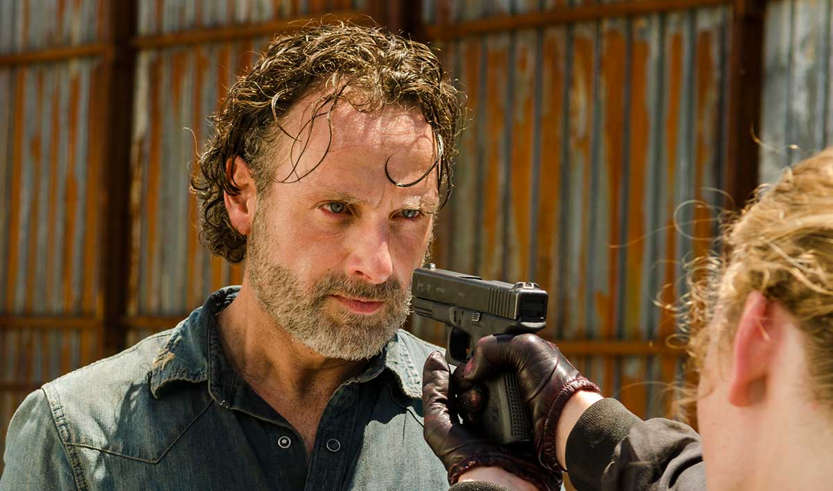 (SPOILERS) <em>The Walking Dead</em> Q&A — Andrew Lincoln (Rick)
