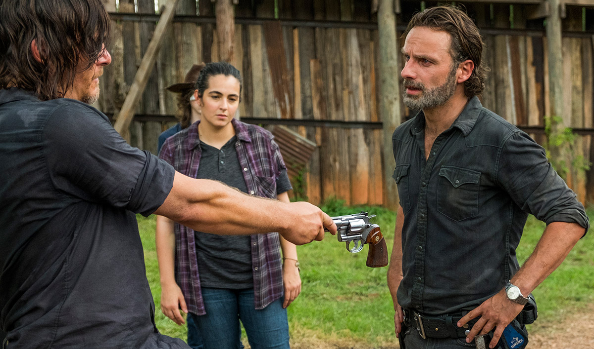 Andrew Lincoln Previews Season 8 to <em>EW</em>; <em>TVLine</em> Reports on New Series Regulars