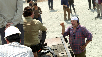 Making of Episode 601: The Walking Dead: First Time Again