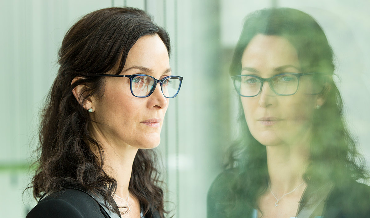 <em>HUMANS</em> Q&A — Carrie-Anne Moss (Dr. Athena Morrow)