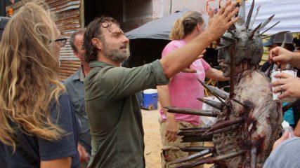 (SPOILERS) Making of The Walking Dead: Season 7, Episode 10