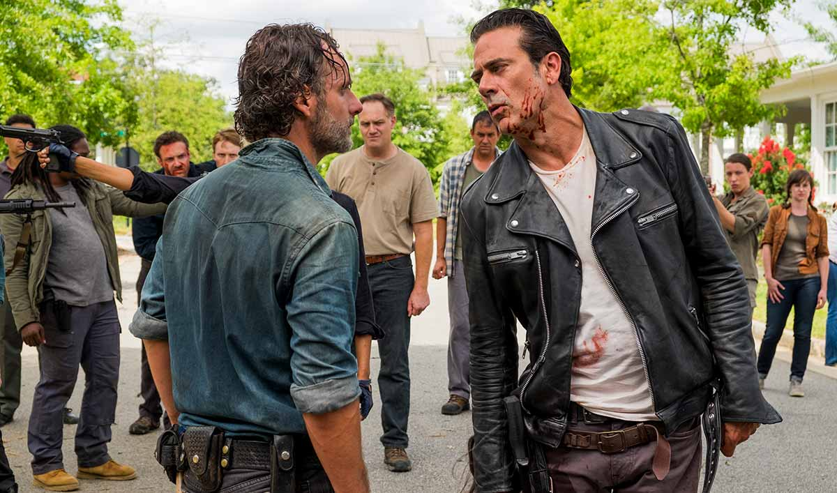Andrew Lincoln Talks Rick/Negan With <em>TV Insider</em>; <em>EW</em> Interviews Lennie James