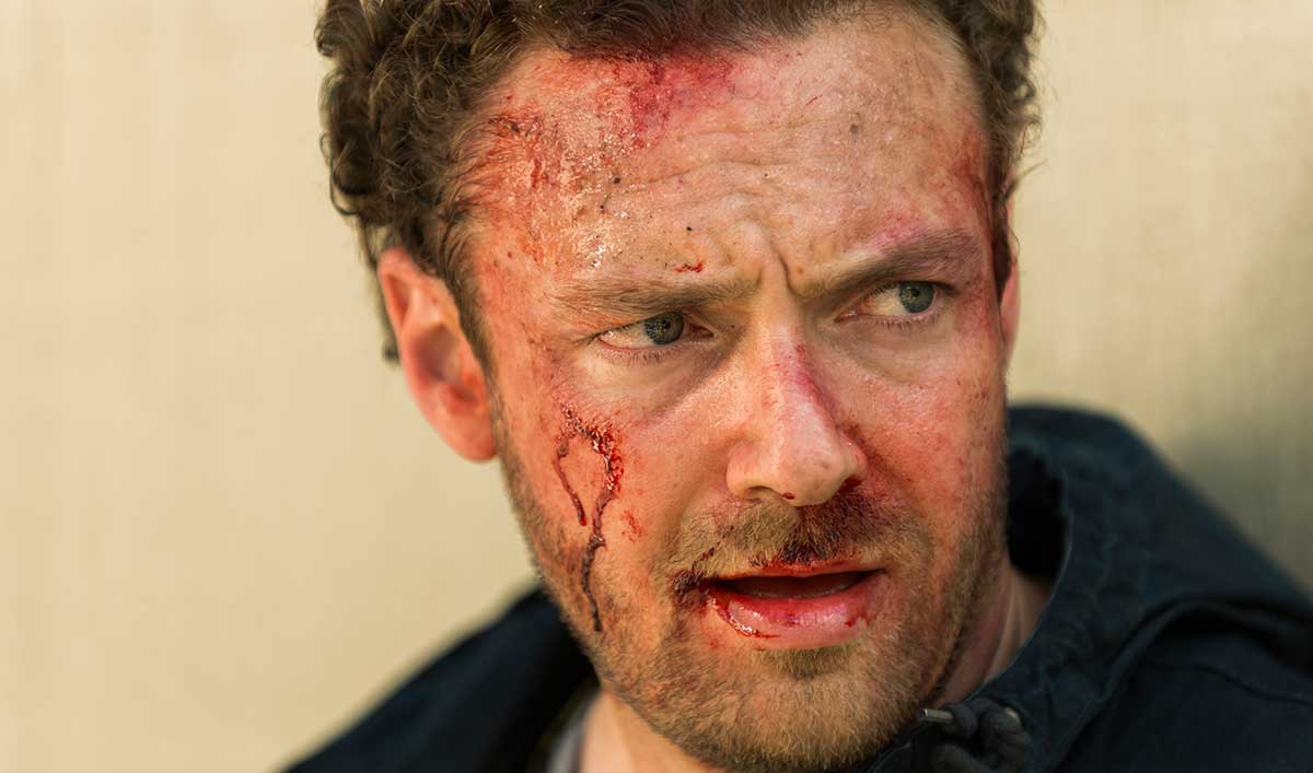 (SPOILERS) <em>The Walking Dead</em> Q&#038;A — Ross Marquand (Aaron)