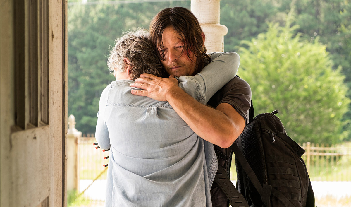 Norman Reedus Talks Revenge With <em>EW</em>; <em>TV Guide</em> Interviews Andrew Lincoln