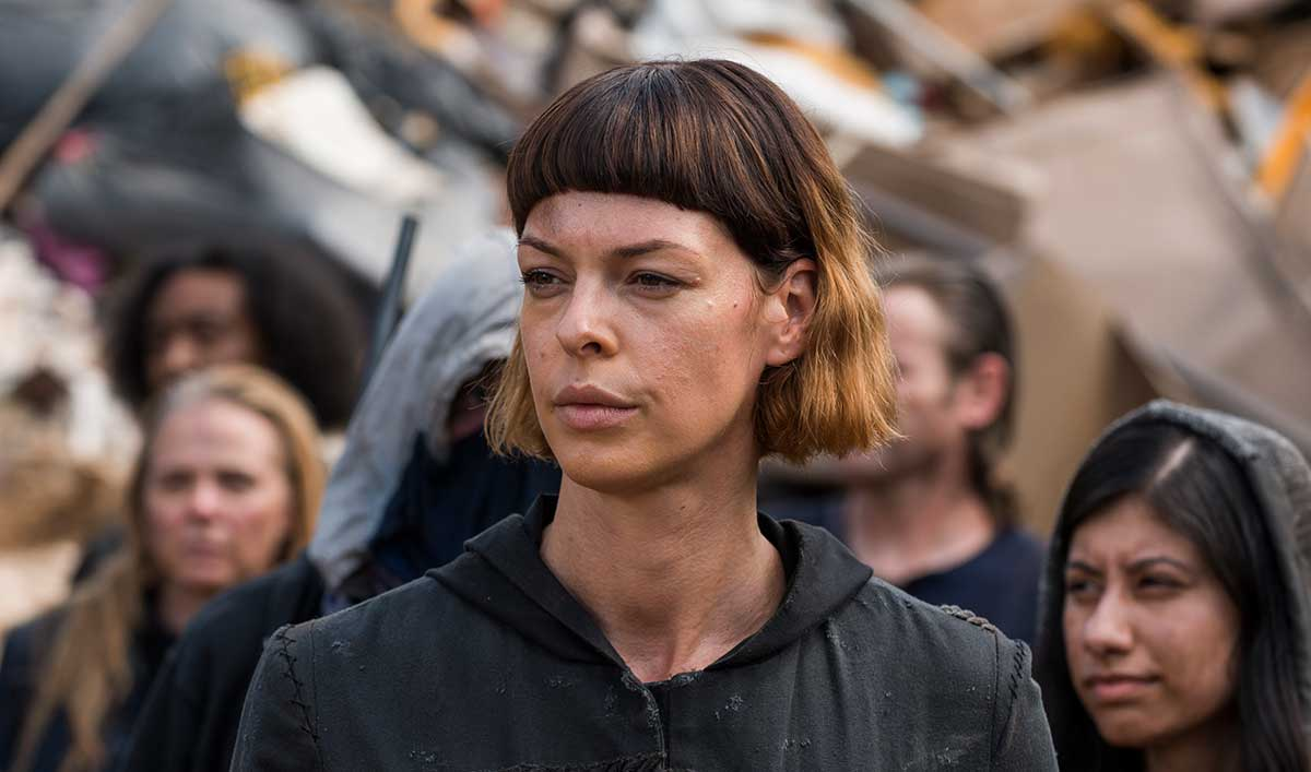 (SPOILERS) <em>The Walking Dead</em> Q&#038;A — Pollyanna McIntosh (Jadis)