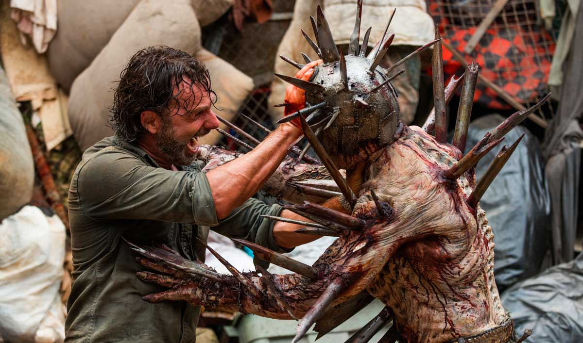 """Making of """"New Best Friends"""" — See the Creation of the Hellish Spiked Walker"""