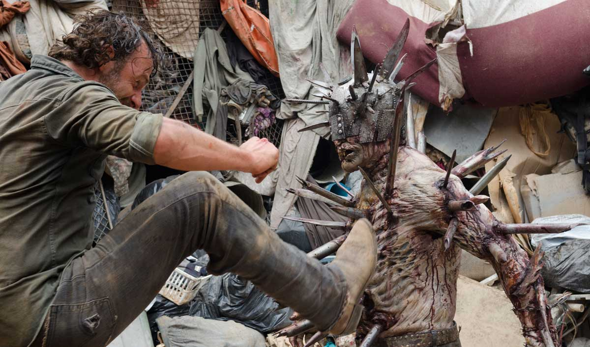 "Talked About Scene From ""New Best Friends"" — Rick Battles a Spiked Walker"