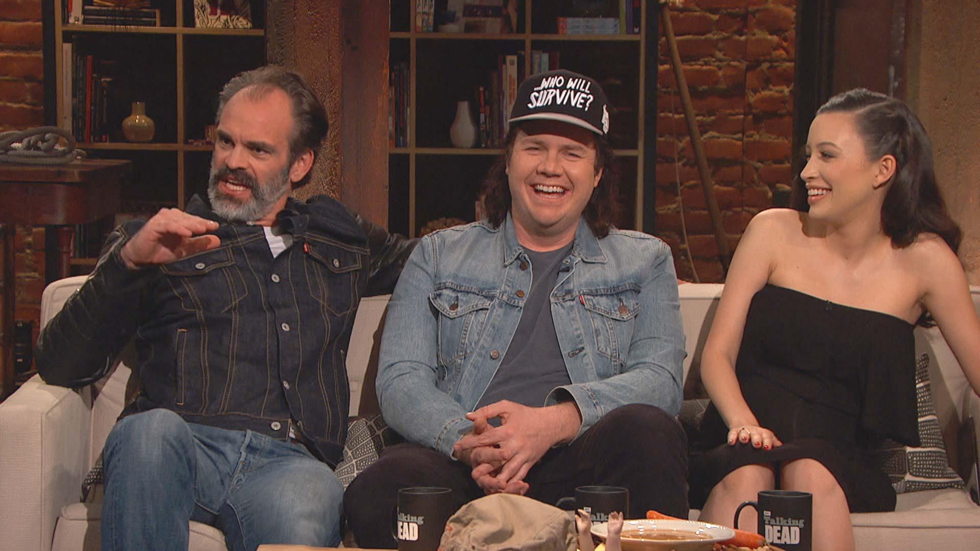 Video Extra - The Walking Dead - Talking Dead: Bonus Scene: Season 7 ...
