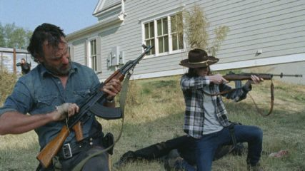 (SPOILERS) Talked About Scene from The Walking Dead: Season 7, Episode 16