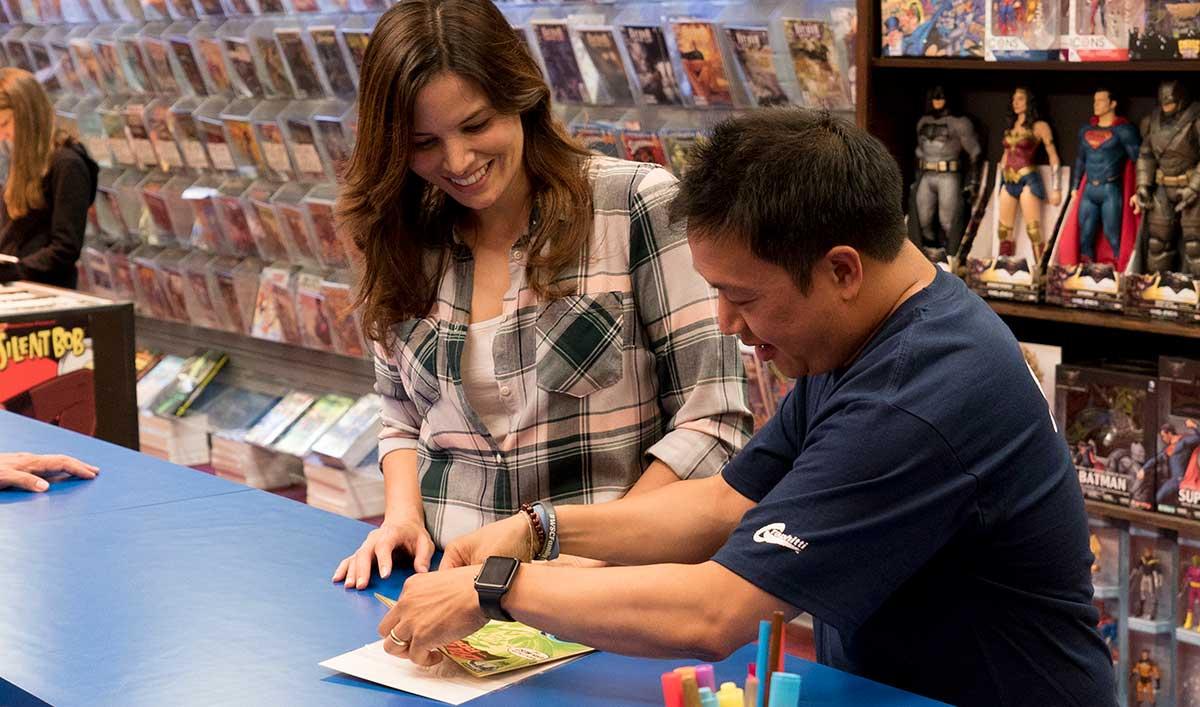 Katrina Law of the CW's <em>Arrow</em> Picks Up a Key Issue for the Al Ghul Family