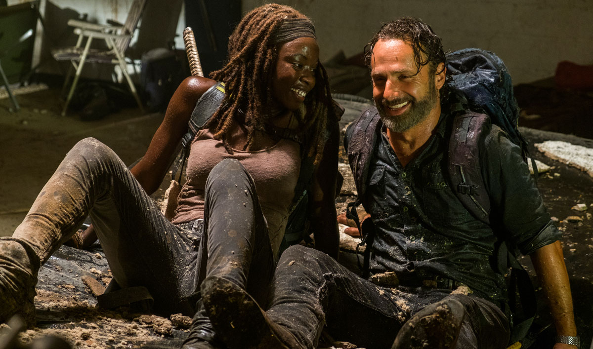 Crash Rick and Michonne&#8217;s &#8220;Honeymoon&#8221; From <em>The Walking Dead</em> Season 7, Episode 12