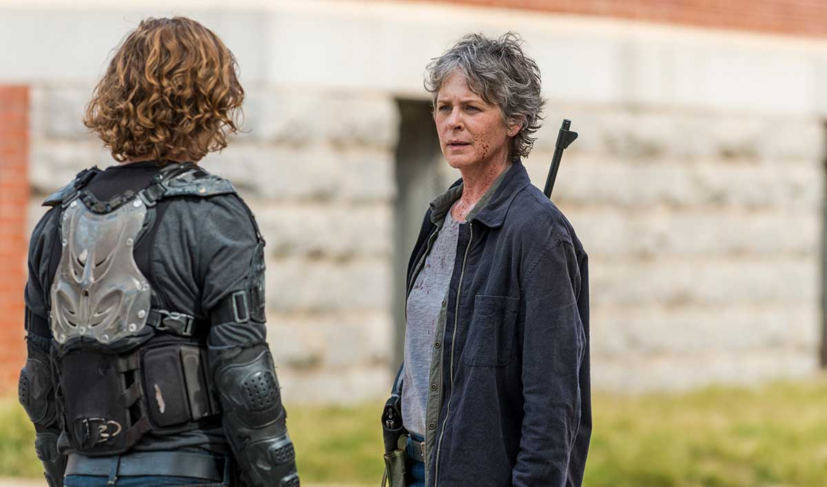 (SPOILERS) <em>The Walking Dead</em> Q&#038;A — Melissa McBride (Carol)