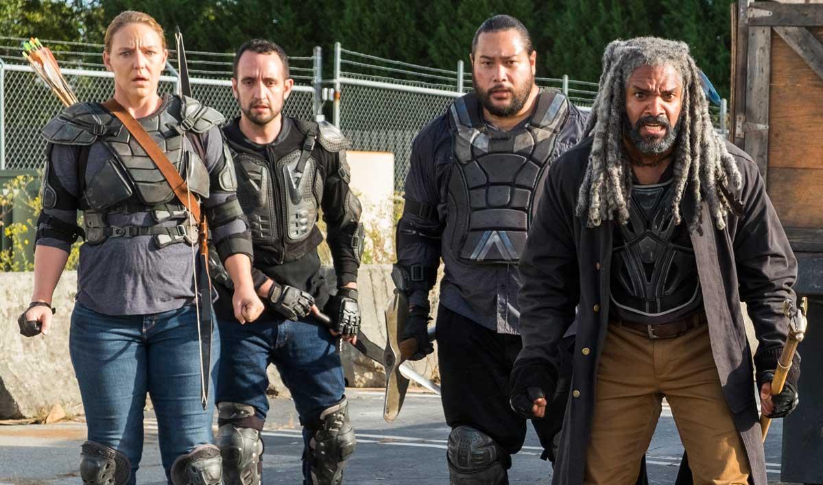 Go Inside the Moment Ezekiel, Carol and Morgan Choose to Break the Peace in <em> The Walking Dead</em> Season 7, Episode 13