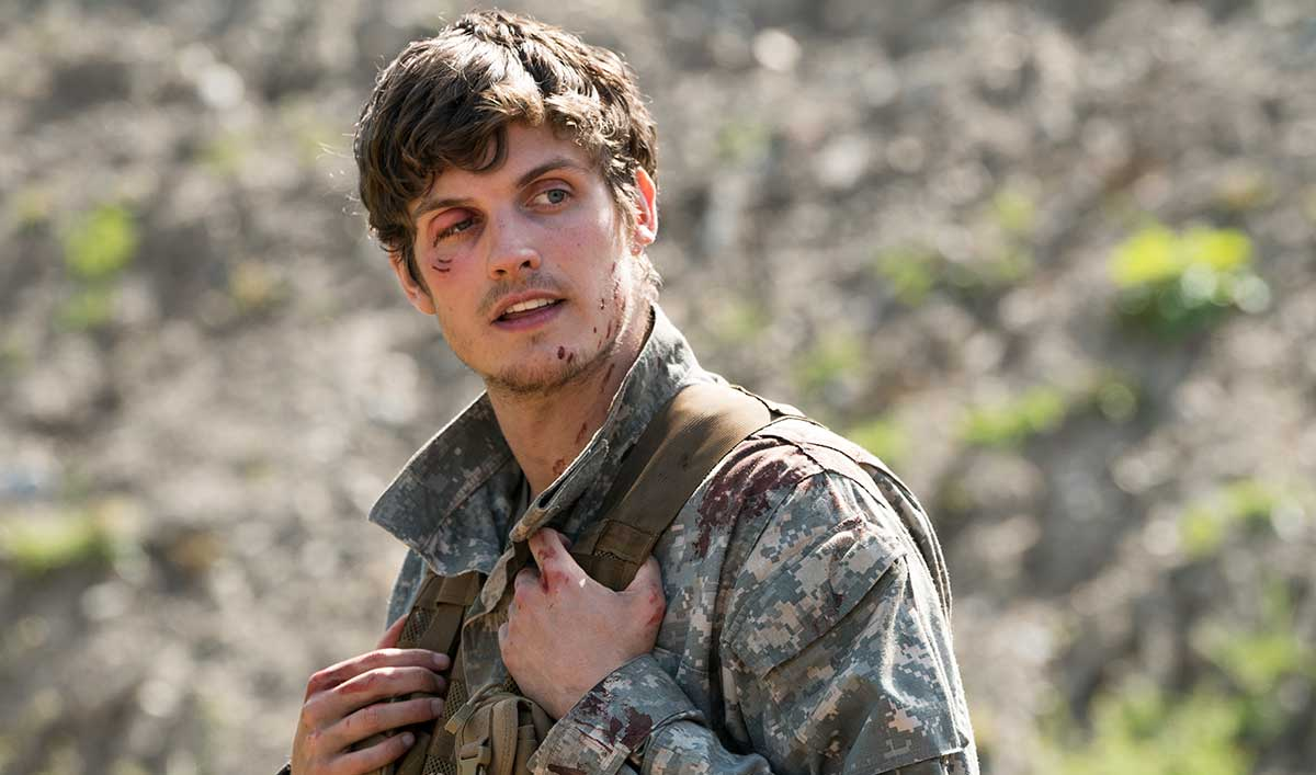 (SPOILERS) <em>Fear the Walking Dead</em> Q&A — Daniel Sharman (Troy)