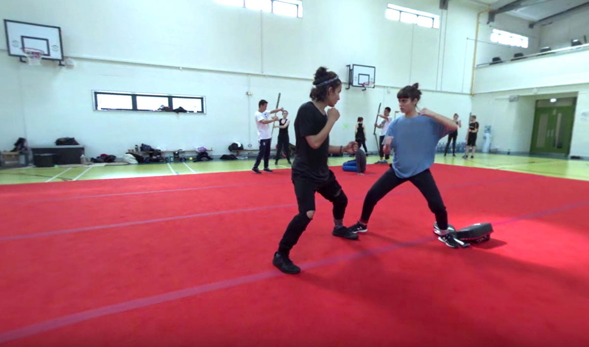 Train With the Cast at Fight Camp in a New 360° VR Experience