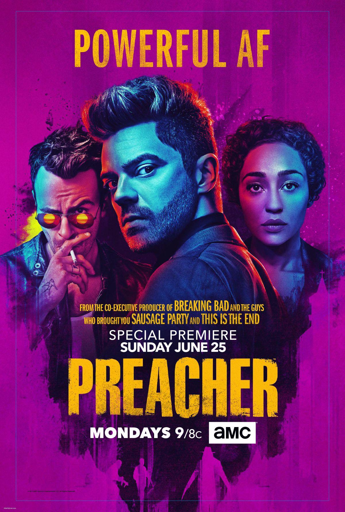 Bildergebnis für preacher season 2 poster