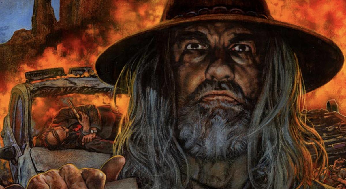 Jesse's a Wanted Man in New <em>Preacher</em> Comic Cover